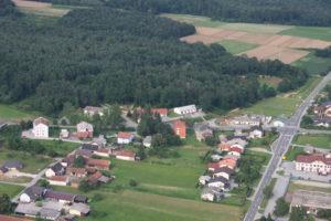 Center vasi Gornji Petrovci iz zraka