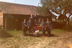 Otvoritev gasilske brizgalne, leta 1966