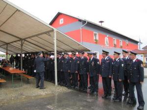 Otvoritev prenovljenega gasilskega doma v Lucovi