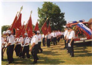 Prevzem novega vozila PGD Šulinci, leta 1998