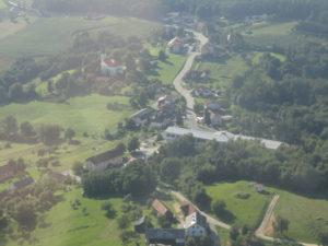 Pogled na Olabe v Gornjih Petrovcih