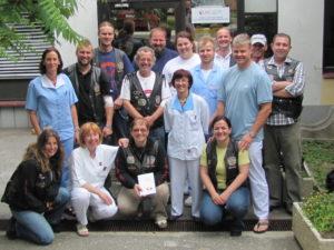 clani mk gronska strejla na krvodajallski akciji 2011