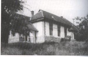 Stara šola v Šulincih, leta 1960